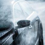 Fareham Car Garage - Gentle Car Washing a black car