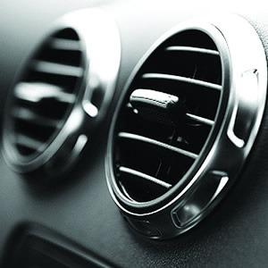 Fareham Car Garage - Close up on Air-Conditioning unit in a car dash board